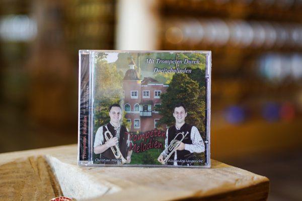 CD Trompeten Melodien 1 Mundo Tirolês - Artigos Típicos Austríacos e Alemães