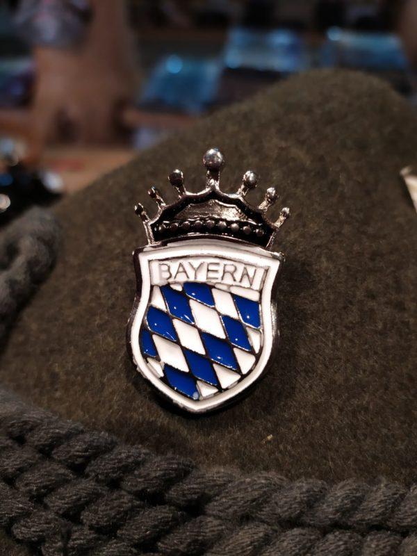 Broche Escudo Bayern 1 Mundo Tirolês - Artigos Típicos Austríacos e Alemães