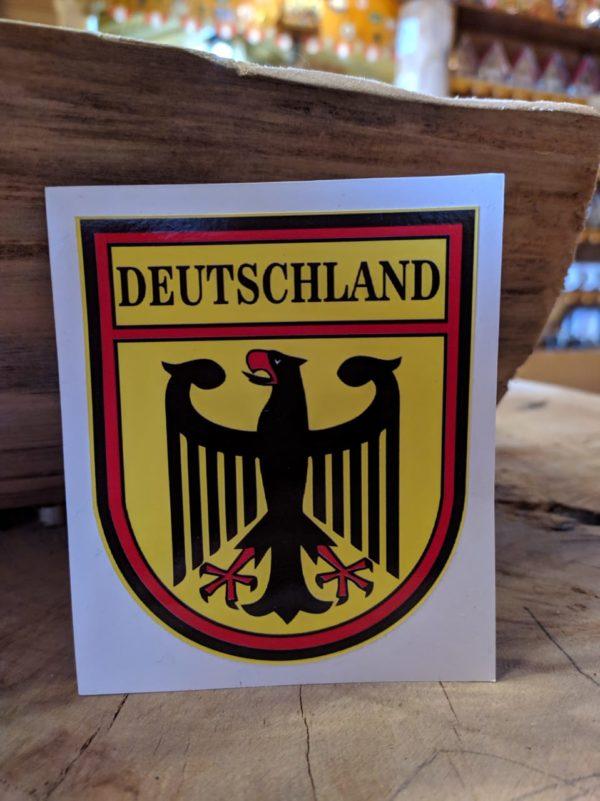 Adesivo Alemanha 1 Mundo Tirolês - Artigos Típicos Austríacos e Alemães